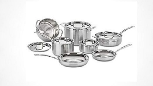 Best Selling Stainless SteelCookware Sets Reviews