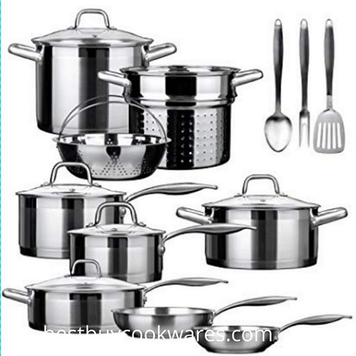 Selling Stainless Steel Induction Cookware Sets Reviews