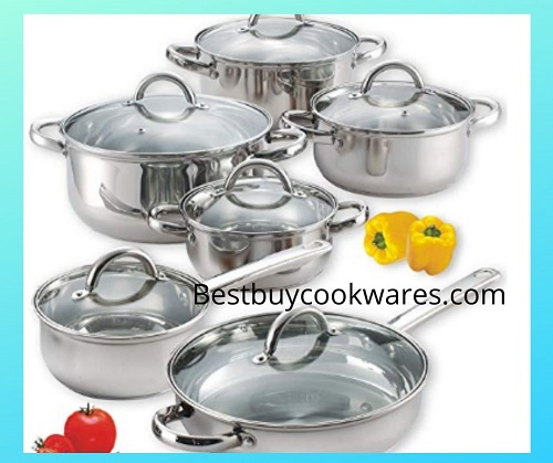 Best Selling Stainless Steel Induction Cookware Sets Reviews